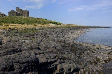 House on Inner island - England Farne Islands