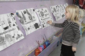 Drawings Lulus Garden - At School of Biodiversity