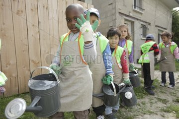 Watering the Garden - A School of Biodiversity