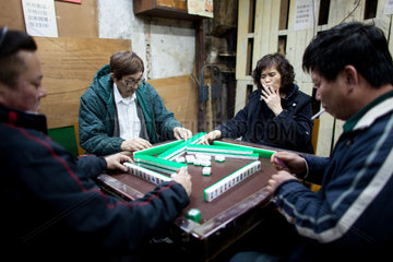 majong game in China