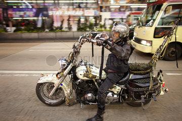motorrider in hongkong