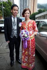 married couple in Hongkong