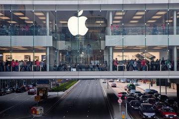apple store in Hongkong