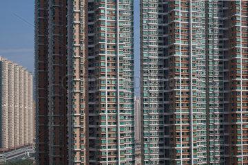 hirise buildings in Hongkong  China