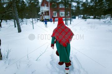 sami woman in finland