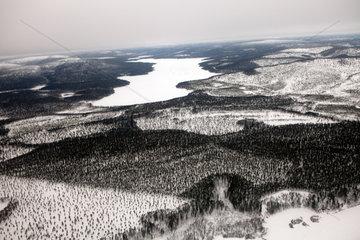 landscape of Northern Finland