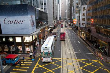 downtown Hongkong