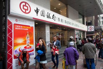 Bank of China in Hongkong