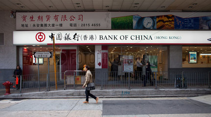 Bank of China in Hongkong
