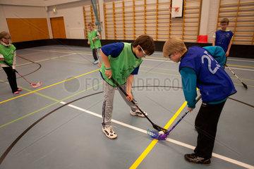 Sami child at school in Northern Finland