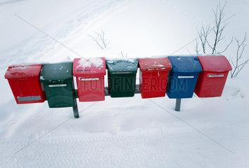 mailbox in Finland
