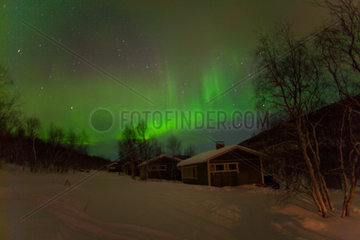 Northern light in FInland