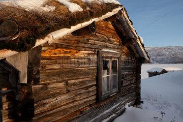 logcabin in Finland