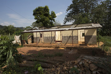 Muslims destroyed houses in CAR