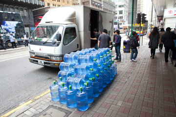 water delivery in hongkong