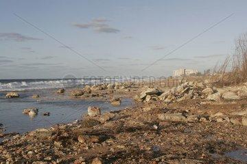 Plage de la Havane sur l¨'île de Cuba