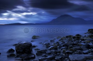 The Cuillin seen from Elgol - Isle of Skye Scotland UK