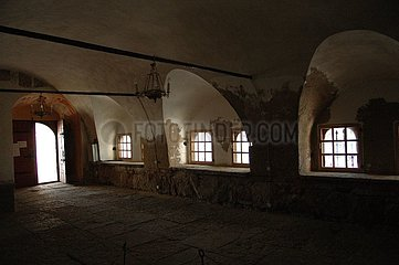 Crypt of the church St Jean Cambric the XVII Russia century old