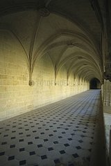 Gothic Cloitre of Fontevraud-l' abbey Maine-and-Loire