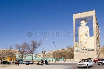 Ville d'Aktau au bord de la Mer Caspienne Kazakhstan