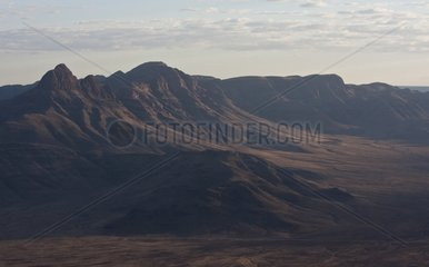 Zarris mountains at dawn in Namibia