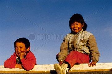 Enfants du village d'Ittoqqottoormiit