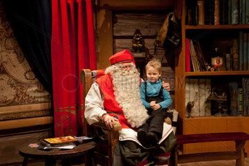 Santa claus office in North Finland