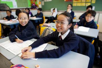 primary school in Hongkong