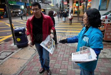 free Metro newspaper in Hongkong