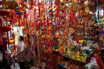 market in Hongkong