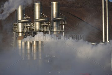 Blue Lagoon Geothermal power plant Iceland