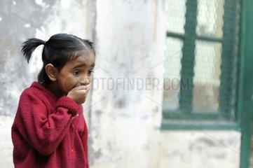 Schoolgirl of the Tomorrow Foundation Calcutta India