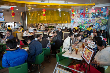 restaurant in Hongkong  China