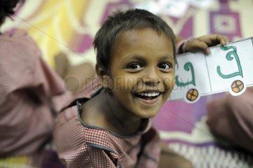 Portrait of a schoolboy for Tomorrow Foundation India