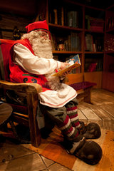Santa claus office in North Finland