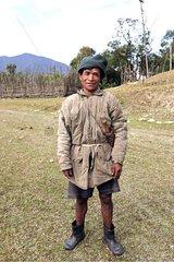 Milang man village of Maryang Arunachal Pradesh India