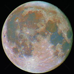 Full Moon colorful