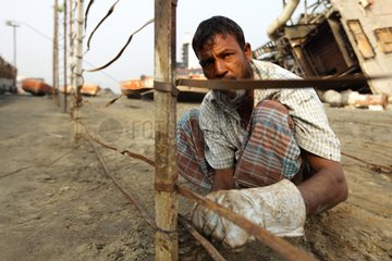 To prevent access to the ship-breaking yard Bangladesh