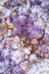 Quartz crystal at Swakopmund in Namibia