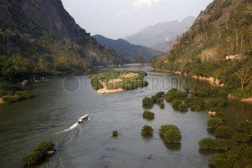 Nam Ou River to Nong Khiaw Laos