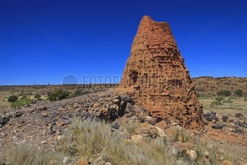 Old lime kiln early twentieth century South-West Namibia