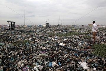 Dump Phnom Penh Cambodia partially rehabilitated