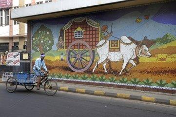 Release of metro in Kolkata India