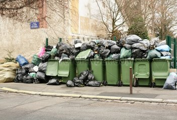 Heap of garbage in the streets one day to strike Orleans