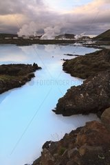 Blue Lagoon and geothermal Reykjanes Iceland