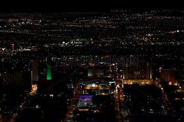 Ville de Las Vegas la nuit Nevada USA