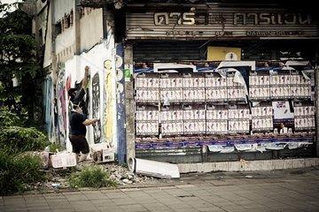 Street Art in Bangkok Thailand