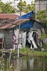 Slum Bangkok Thailand