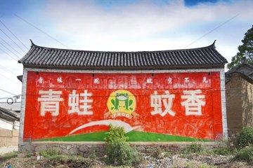 Erhai Lake Frontage advertising Yunnan China