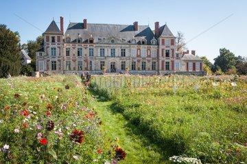 Flower show Journées des plantes de Courson France